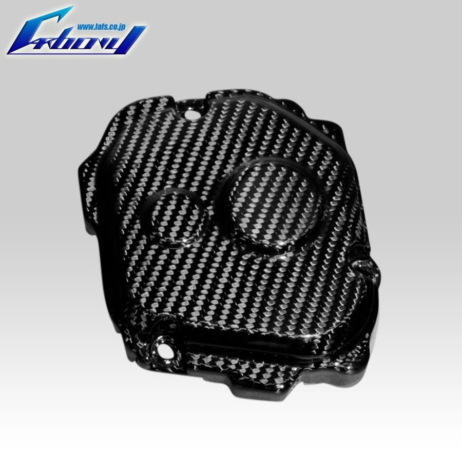 Carbony カーボニー エンジンカバー クランクケースカバー 仕上げ:ツヤ有り 仕様:ブルーカーボン ZX-10R 2016-