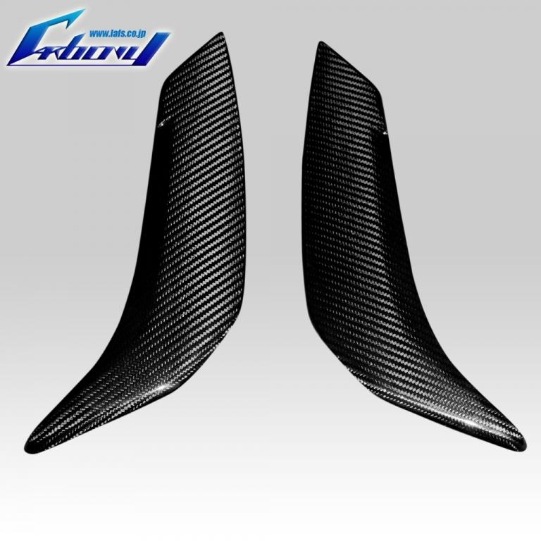 Carbony カーボニー タンクサイドカバー 仕上げ:ツヤ有り 仕様:ブルーカーボン FZ8 2010-2013