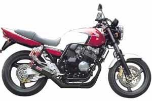 MORIWAKI ENGINEERING モリワキエンジニアリング フルエキゾーストマフラー ワンピース タイプ:BLACK (ブラック) CB400スーパーフォア H-VTEC 99-07