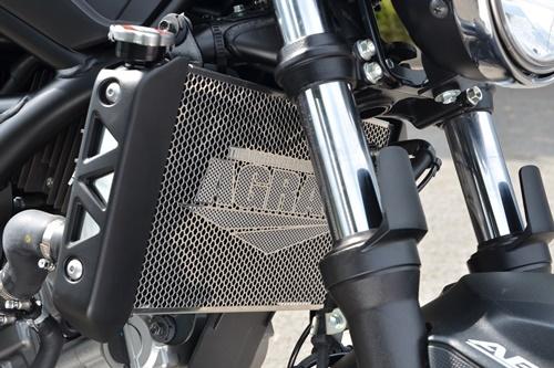 AGRAS アグラス ラジエターコアガード SV650