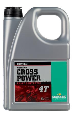【在庫あり】MOTOREX モトレックス CROSS POWER 4T【10W-60】【4サイクルオイル】
