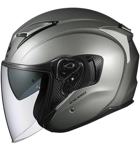 【在庫あり】OGK KABUTO オージーケーカブト ジェットヘルメット EXCEED [エクシード クールガンメタ] ヘルメット サイズ:M