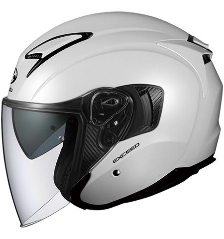 OGK KABUTO オージーケーカブト ジェットヘルメット EXCEED [エクシード パールホワイト] ヘルメット サイズ:M