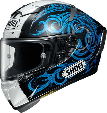 SHOEI ショウエイ フルフェイスヘルメット X-14 KAGAYAMA5 [X-FOURTEEN エックス-フォーティーン カガヤマ5 TC-2 BLUE/BLACK] ヘルメット サイズ:XXL (63-64cm)