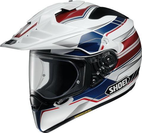 SHOEI ショウエイ オフロードヘルメット HORNET-ADV NAVIGATE [ホーネット-エーディーヴイ ナビゲイト TC-2 BLUE/WHITE] ヘルメット サイズ:L (59cm)