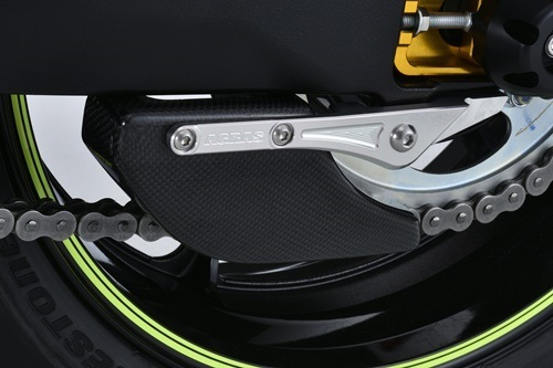 AGRAS アグラス ガード・スライダー リアスプロケットガード FRP製 GSX-R1000 GSX-R1000R