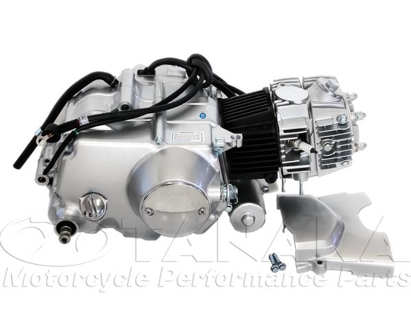 田中商会 TANAKA エンジンCOMP 90cc セル付 マニュアルクラッチエンジン 付属ハーネス:シャリー用 カブ (横型エンジン搭載車) シャリー50 シャリー70 ダックス ダックス70 マイティダックス (ST90) モンキー