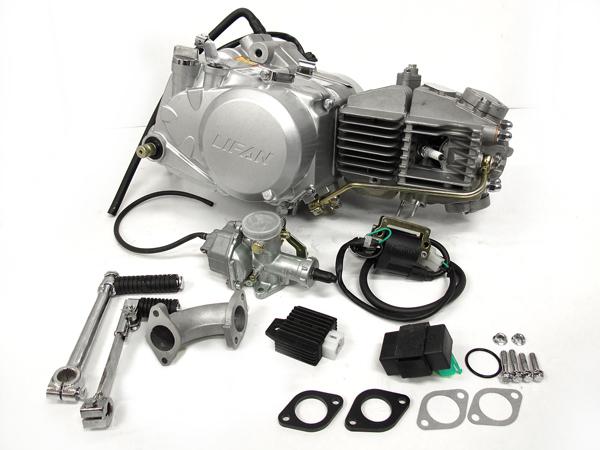 田中商会 TANAKA エンジンCOMP LIFAN(リーファン)160cc ハイパワーエンジン 付属ハーネス:モンキー用 モンキー