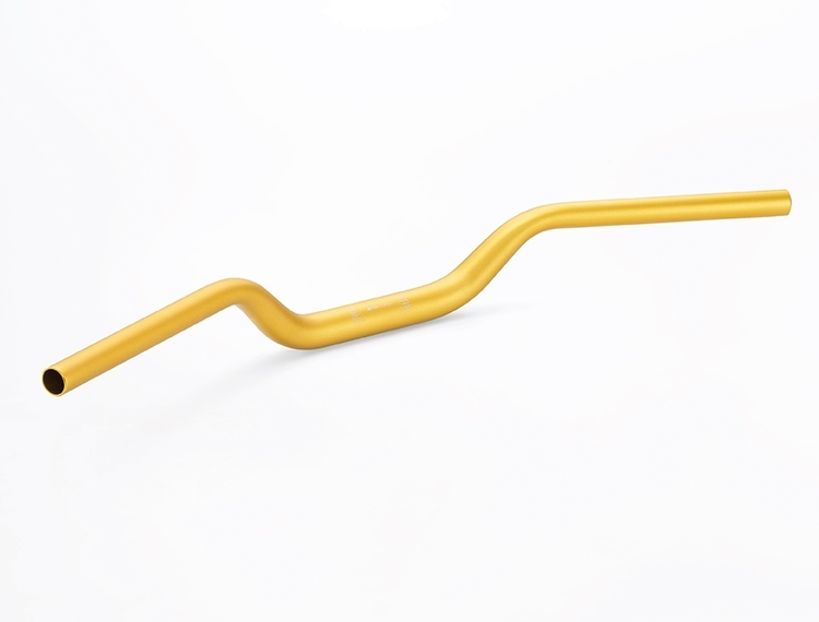 H2C エイチツーシー ハンドルバー BIKERS ファットバー (28.6mm) Color:GOLD モンキー125