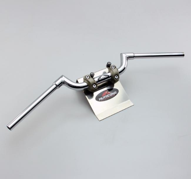 HURRICANE ハリケーン ハンドルバー MT-09専用FATスワローハンドル カラー:クロームメッキ MT-09 XSR700 XSR900