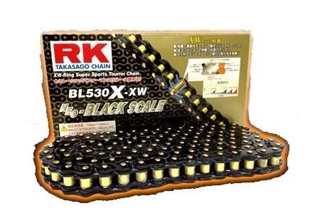 RK チェーン アールケー BLブラックスケールシリーズチェーン BL530X-XW