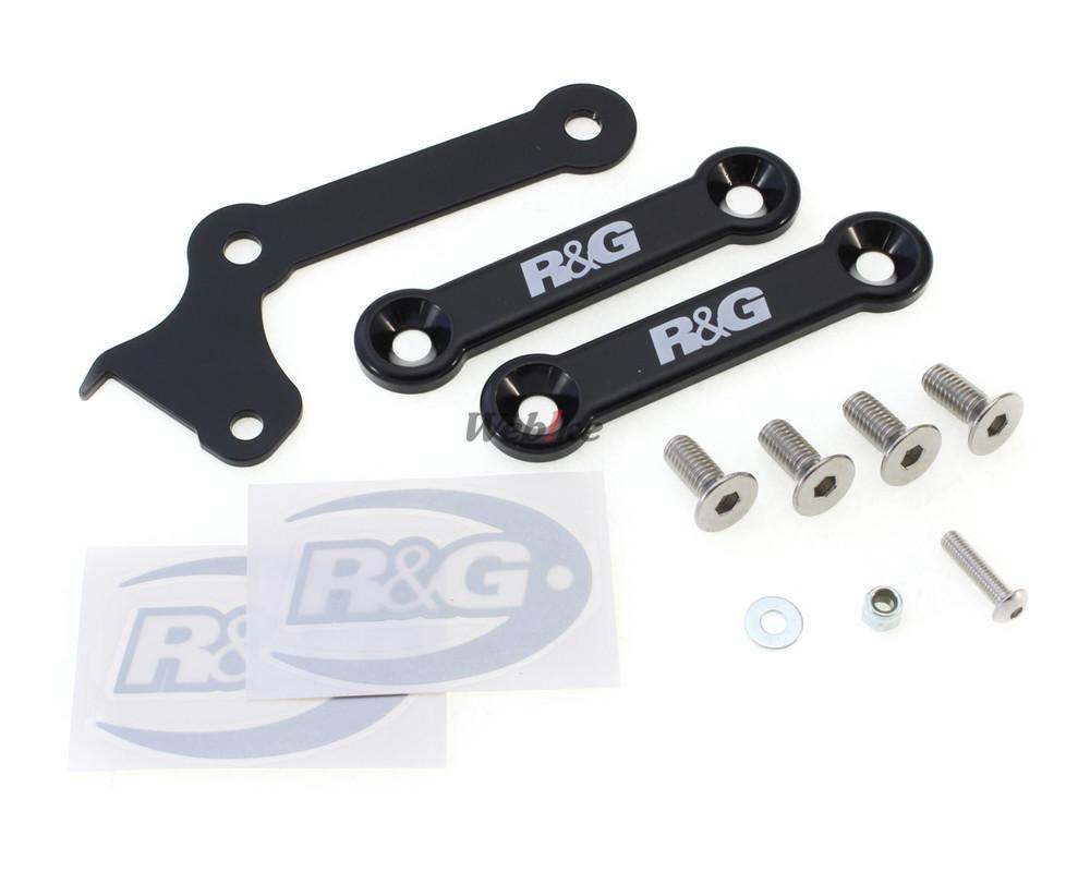 R&G アールアンドジー リアフットレスト ブランクプレートキット【Rear Foot Rest Blanking Plate Kit】■ MT-07 MT-07 MT-07 MT-07 MT-07 MT-07 MT-07
