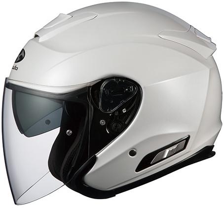 OGK KABUTO オージーケーカブト ジェットヘルメット ASAGI [アサギ パールホワイト] ヘルメット サイズ:S