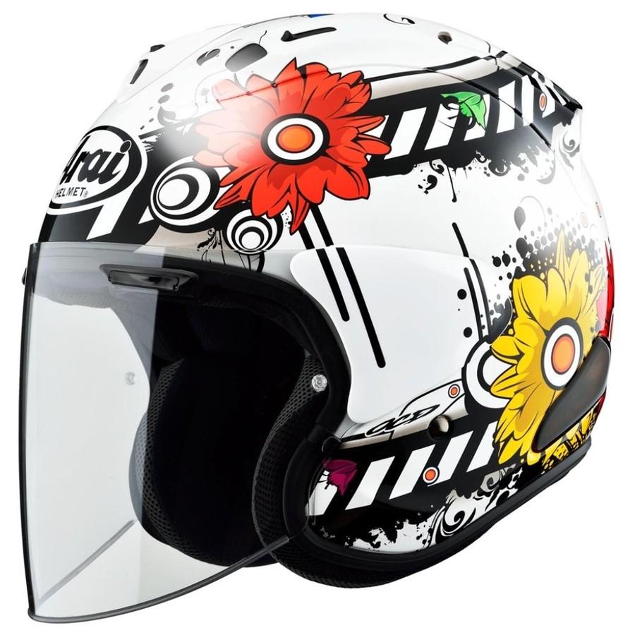 Arai アライ ジェットヘルメット VZ-RAM [ブイゼット ラム ブロッサム] ヘルメット サイズ:L(59-60cm)
