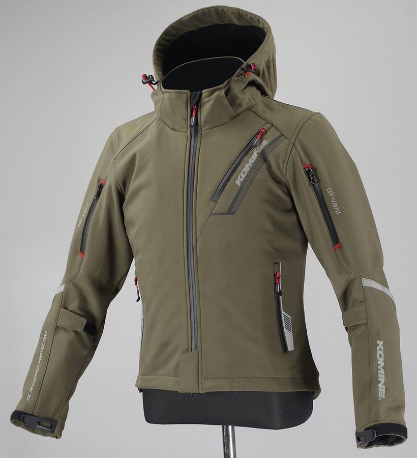 KOMINE コミネ ウインタージャケット JK-579 プロテクトソフトシェルウインターパーカ イフ レディース サイズ:WL