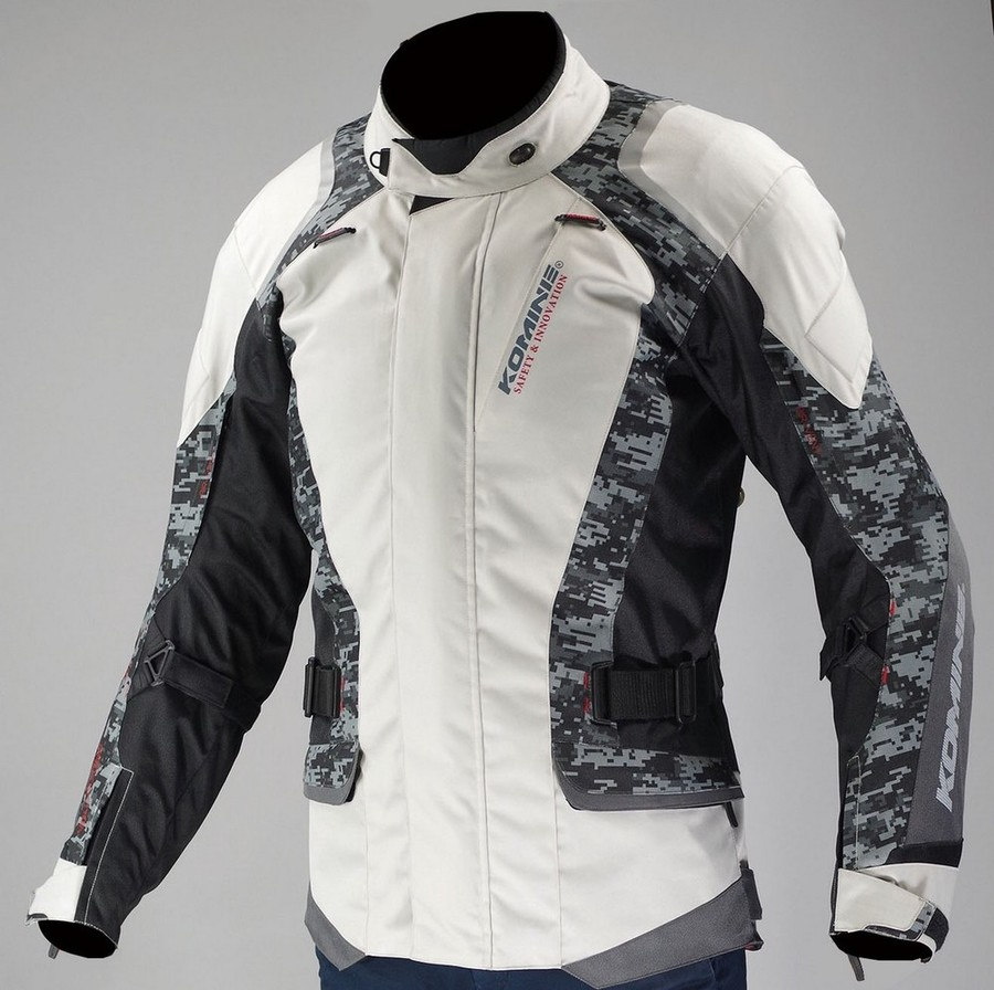 KOMINE コミネ JK-587 プロテクトウインタージャケット タガ サイズ:S