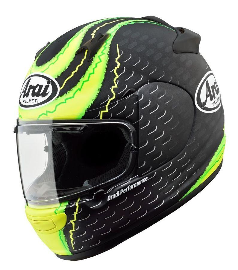 Arai フルフェイスヘルメット アライ QUANTUM-J CRUTCHLOW GP [クアンタム-J クラッチロウGP] ヘルメット