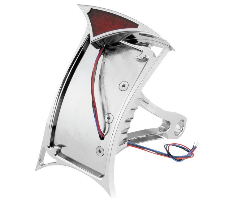 Biker's Choice バイカーズチョイス ナンバープレート関連 GOTHIC LED ナンバープレートフレーム 【Gothic LED License Plate Frame [482729]】 FLST FXST