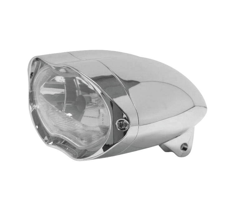 Biker's Choice バイカーズチョイス ヘッドライト本体・ライトリム/ケース ビレットアルミ SUNRAY ヘッドライト 【Billet Aluminum Sunray Headlights [482821]】