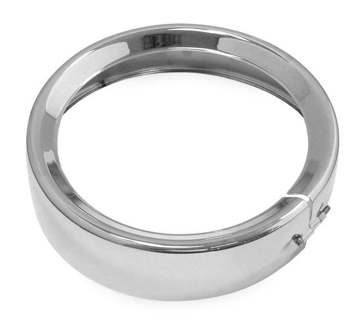 Biker's Choice バイカーズチョイス ヘッドライト本体・ライトリム/ケース ヘッドライトトリムリング 【Headlight Trim Ring】 COLOR:Chrome [482914]