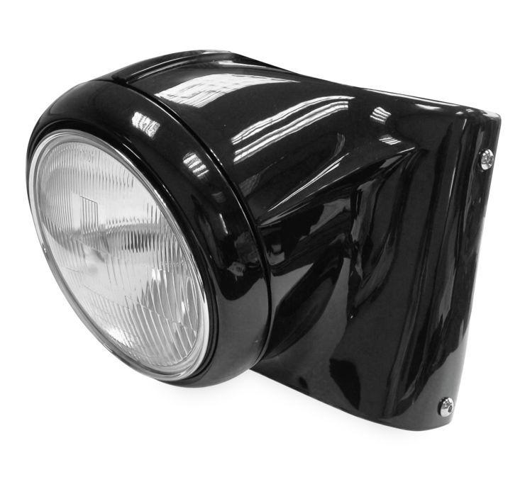 Biker's Choice バイカーズチョイス ヘッドライト本体・ライトリム/ケース ヘッドライトコンバージョンキット 【Headlight Conversion Kit】 COLOR:Black [482960]