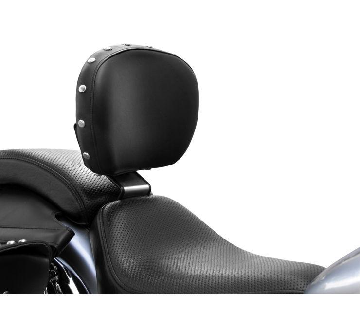 Bakup USA バックアップユーエスエー バックレスト 【Backrests [563767]】 V-Star Custom 650 98-10 Driver (HO)