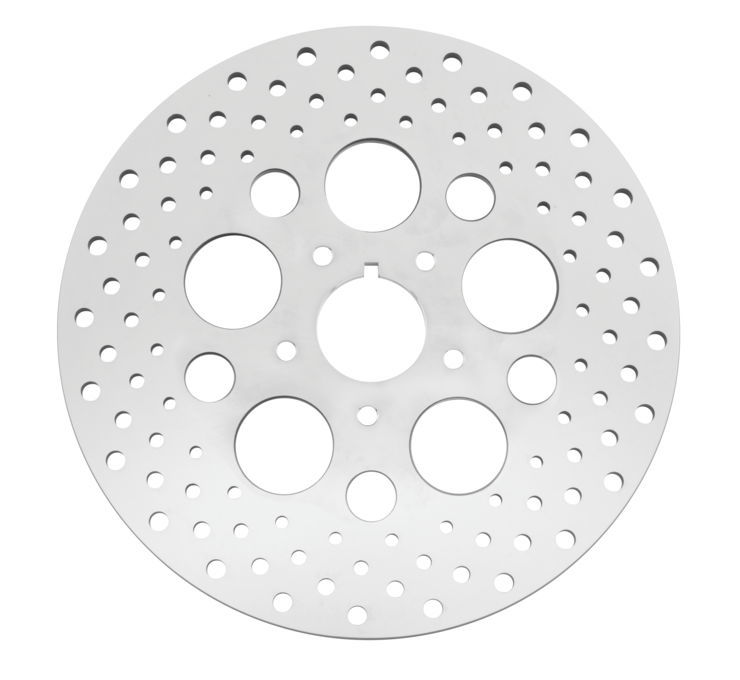 Biker's Choice バイカーズチョイス ディスクローター ドリルローター 【Drilled Rotors [619915]】 FLH FLST FLT FXD FXR FXST XL