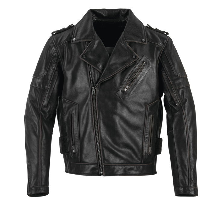Black Brand ブラックブランド メンズ CARNIVORE レザージャケット 【Men's Carnivore Leather Jacket】 Size:S [BB3374]