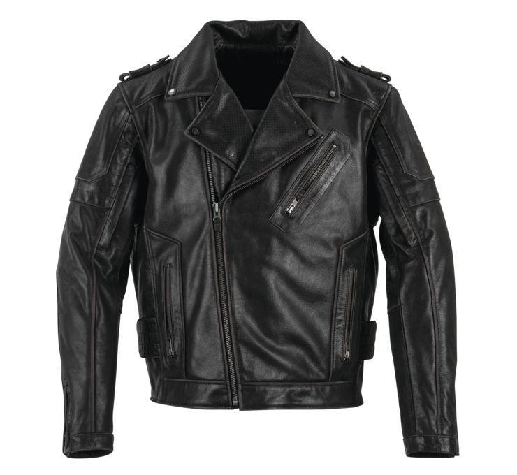 Black Brand ブラックブランド メンズ CARNIVORE レザージャケット 【Men's Carnivore Leather Jacket】 Size:L [BB3377]