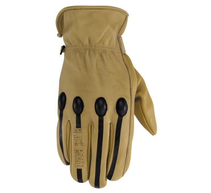 Black Brand ブラックブランド レザーグローブ メンズレトログローブ 【Men's Retro Gloves】 Size:XL [BB7253]