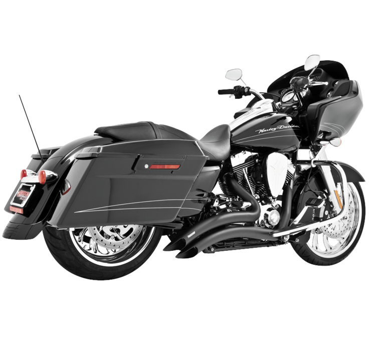 Freedom Performance Exhaust フリーダムパフォーマンスエキゾースト フルエキゾーストマフラー シャープカーブラジア エキゾーストシステム 【Sharp Curve Radius】 Color:Black [473090]