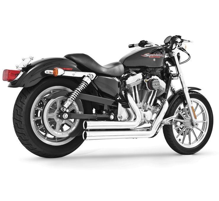 フルエキゾーストマフラー FREEDOM PERFORMANCE SHORTY エキゾーストシステム SPORTSTERモデル 【Independence Shorty for Sportster Models [473228]】 XL 14-17