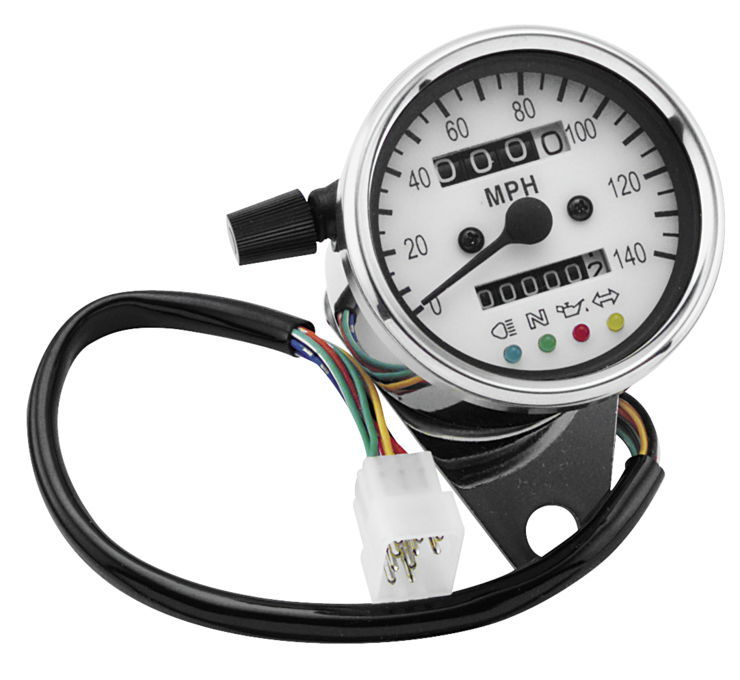 Biker's Choice バイカーズチョイス ミニスピードメーター LEDウインカー付き 【Mini-Speedo with LED Indicator Light [490291]】