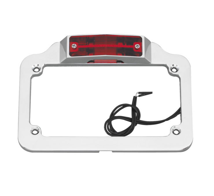 Biker's Choice バイカーズチョイス ダブルライト ナンバープレートフレーム 【Twin Light License Plate Frame [493427]】