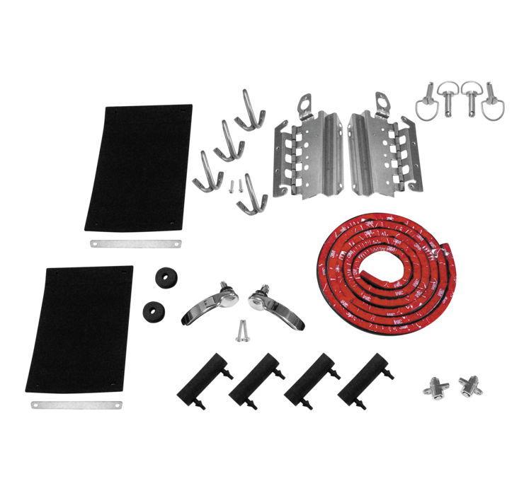 Biker's Choice バイカーズチョイス サドルバッグラッチキット/コンポーネント 【Saddlebag Latch Kit and Components [496047]】 FLT FLH