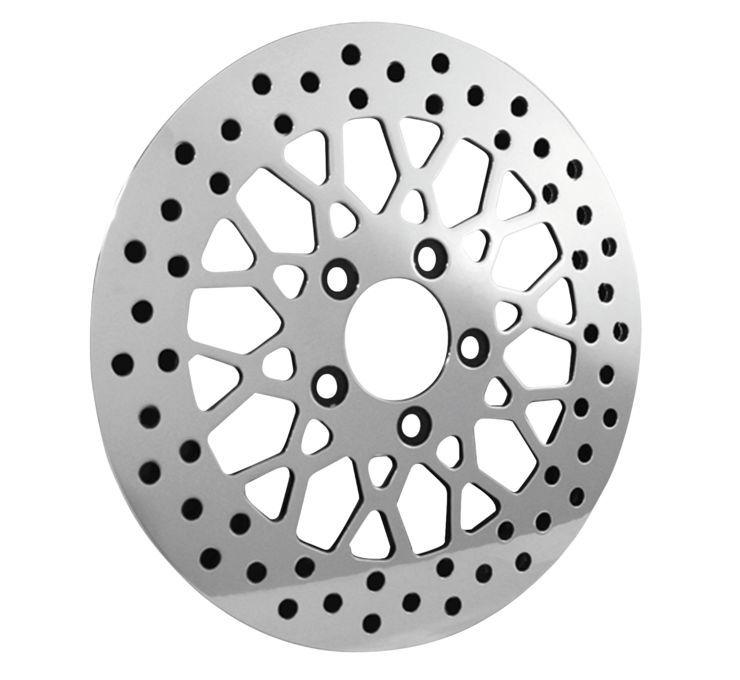 Biker's Choice バイカーズチョイス ディスクローター ローター ポリッシュ 【Polished Rotors [601964]】 FLH FLST FLT FXD FXST XL