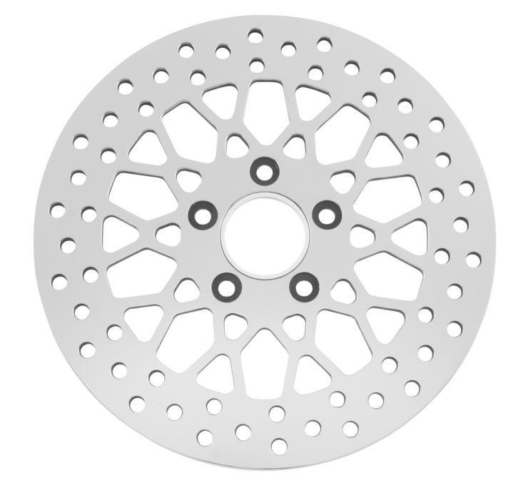 Biker's Choice バイカーズチョイス ディスクローター ローター ポリッシュ 【Polished Rotors [601966]】 FLH FLST FLT FXD FXST XL