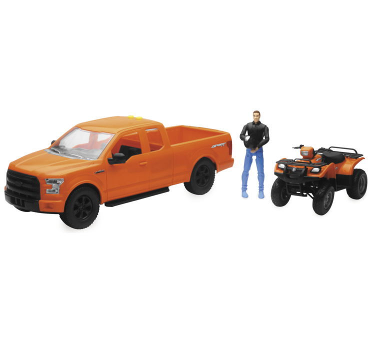 New Ray Toys ニューレイトイズ 1:14 スケール F-150セット ライト/サウンド付き 【1:14 Scale F-150 Set with Lights and Sound [155265]】
