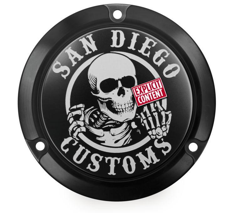San Diego Customs サンディエゴカスタムズ エンジンカバー ダービーカバー 【Derby Covers [482251]】 Evolution