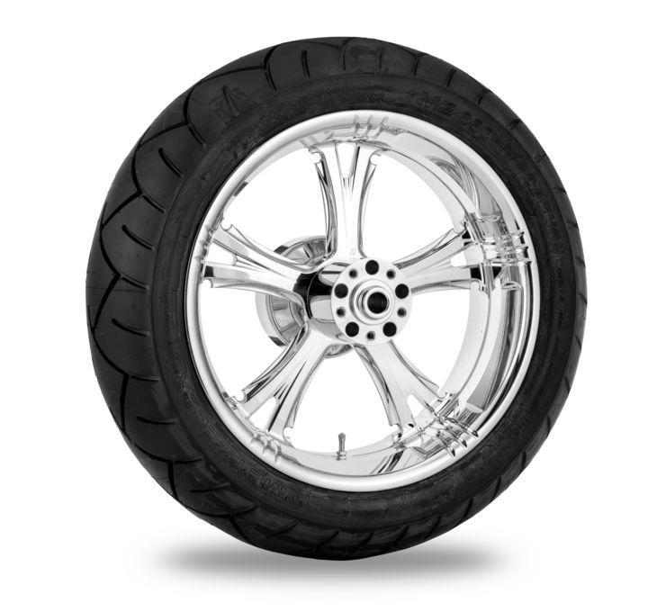 Xtreme Machine エクストリームマシン ホイール本体 FIERCE ホイール 【Fierce Wheel】 COLOR:Chrome [676949] FLH 08-17