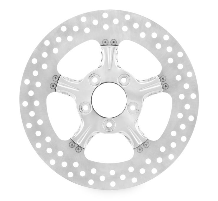 Xtreme Machine エクストリームマシン ディスクローター FIERCE ブレーキローター 【Fierce Brake Rotors】 COLOR:Chrome [678288] FLH FLT