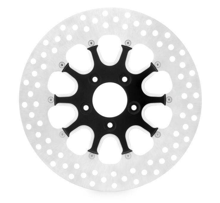 Xtreme Machine エクストリームマシン ディスクローター LAUNCH ブレーキローター 【Launch Brake Rotors】 COLOR:Black Cut [678300] FLH FLT