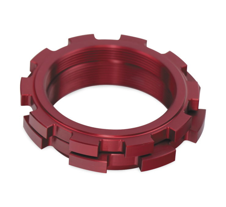 Factory Connection ファクトリーコネクション その他サスペンションパーツ プリロードリング 【Pre-load Rings】 SIZE:50 mm Red RM-Z250