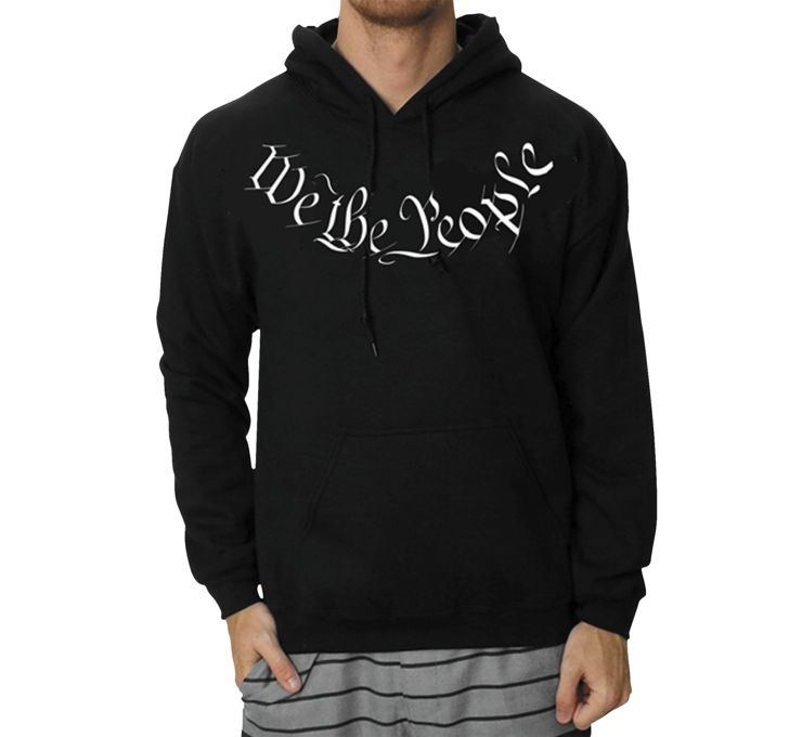 "Outlaw Threadz アウトロースレッズ メンズフーディー ""WE THE PEOPLE"" 【Men's We The People Hoody】"
