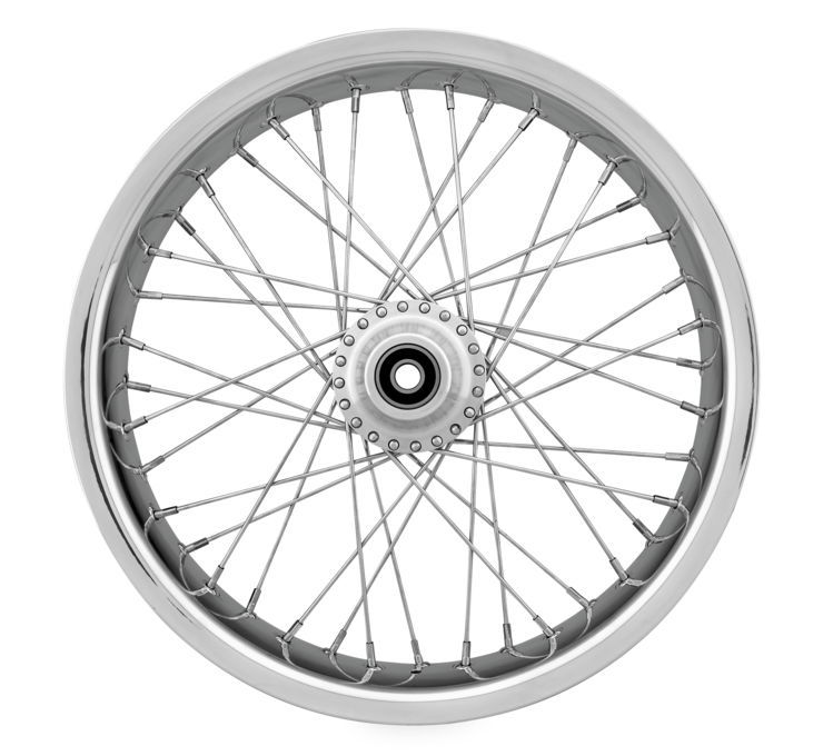 Ridewright ライドライト 40 Spoke Exotica Soft Lip Wheels FLHT FLH
