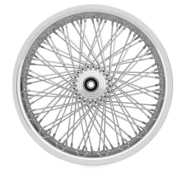 Ridewright ライドライト 80 Spoke Exotica Soft Lip Wheels FLHT FLH