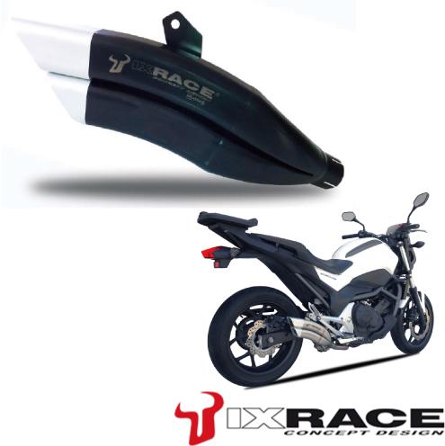 IXRACE アイエックスレース ツインアップ スリップオンマフラー INTEGRA 700 NC700 S NC700 X