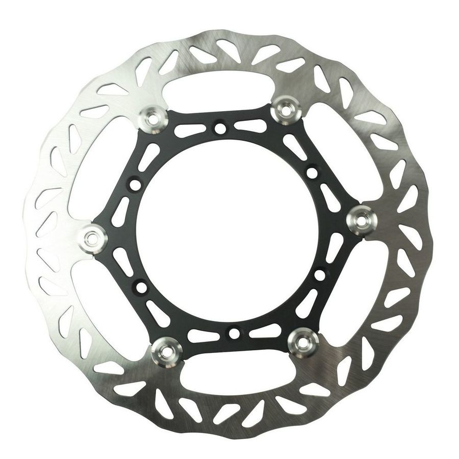 ARMSTRONG アームストロング ディスクローター OVERSIZE YAMAHA FRONT FLOATING BRAKE DISC MX WAVY 1PC 270MM WITH ADAPTOR #0904Y