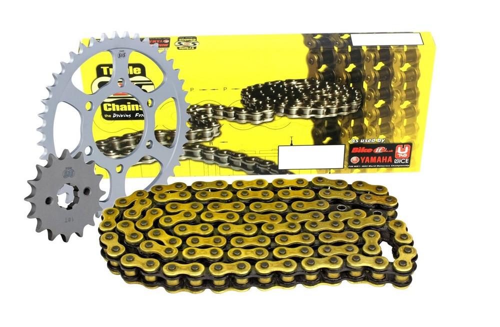 BIKE IT バイクイット スプロケット Yamaha FZS600 Fazer / SP Fazer 98-03 Chain & Sprocket Kit - X-Ring FZS600 Fazer FZS600 SP Fazer