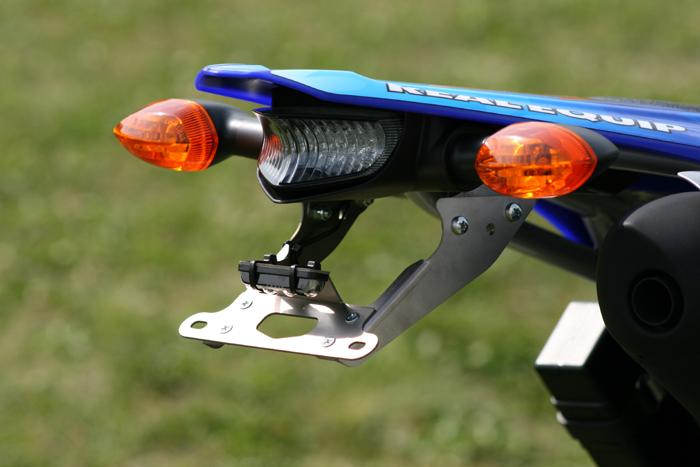 REAL EQUIP レアルエキップ チタンライセンスブラケット WR250 X WR250 R
